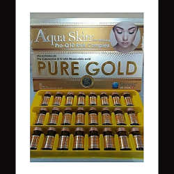 Aqua Skin Pure Gold  24 Sessions