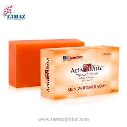 Active White Papaya Enzyme Skin Whitening Soap