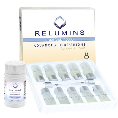 Relumins Glutathione 15000mg Sublingual Oral Dose