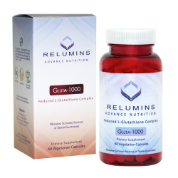 Relumins 1000mg Reduced Glutathione 60 Capsules