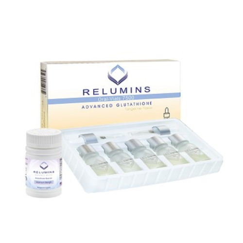 Relumins Oral Vials 7500mg Sublingual Glutathione