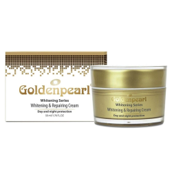 Use Goldenpearl whitening cream