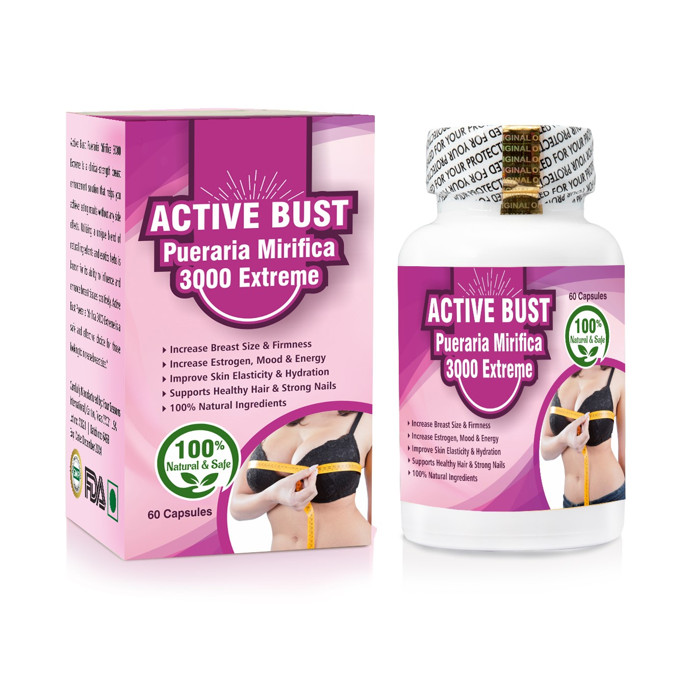 Active Bust Pueraria Mirifica 3000 Extreme