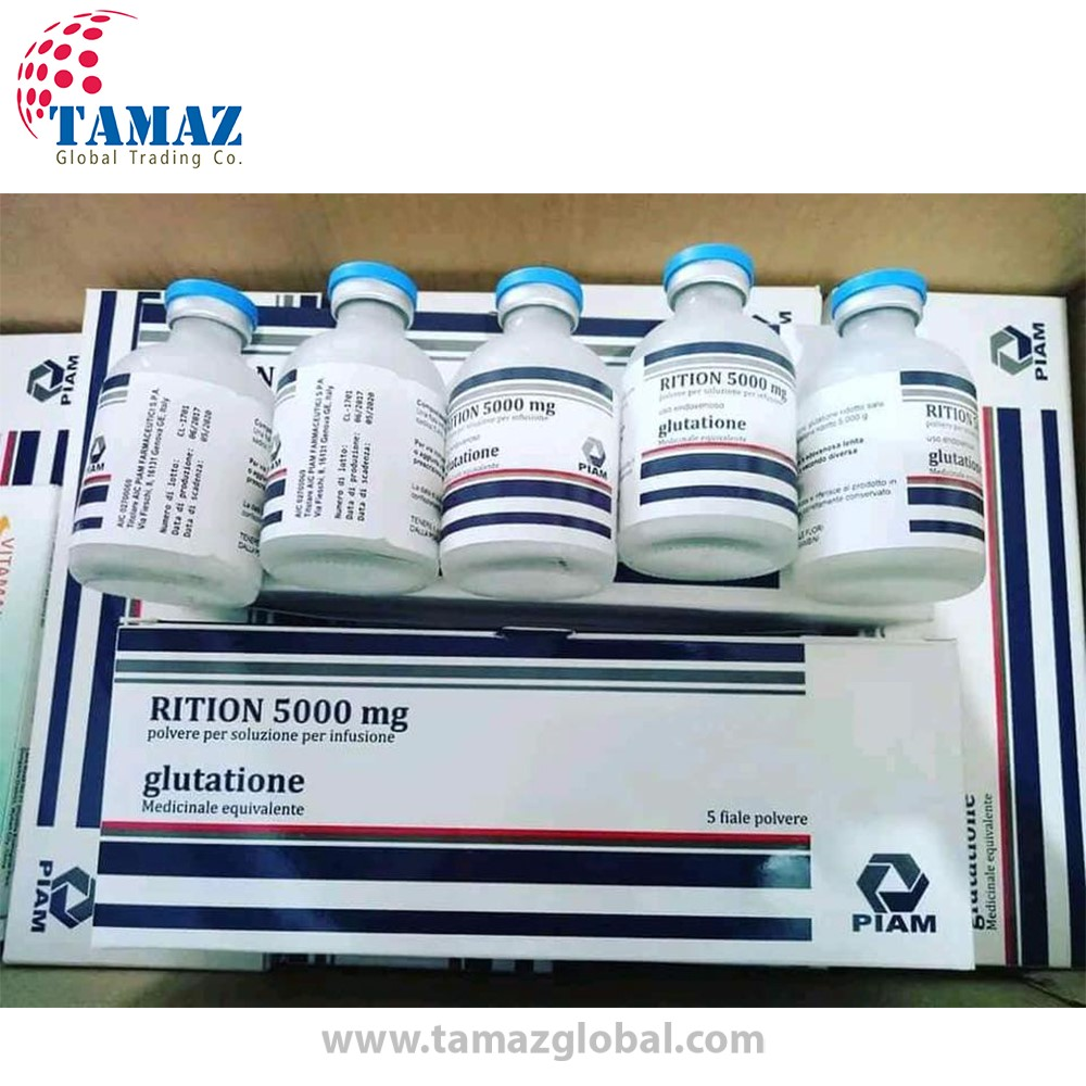 Riotion 5000mg Glutathione Injections