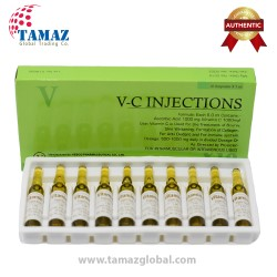 VC Vitamin C 1000mg Injections 10 Ampoules