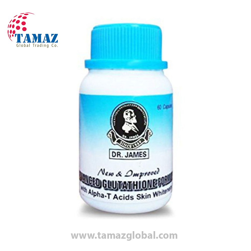 Dr James Glutathione Skin Whitening Capsules