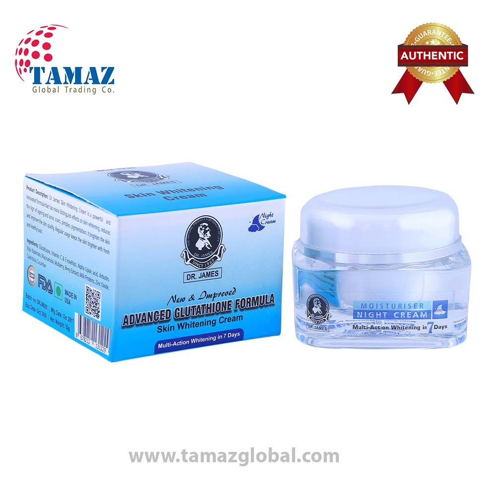 Dr James Glutathione Skin Whitening Cream