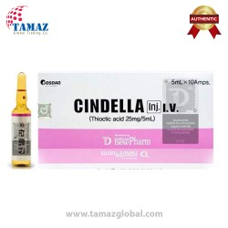 Cindella Thiotic acid 25mg 5ml