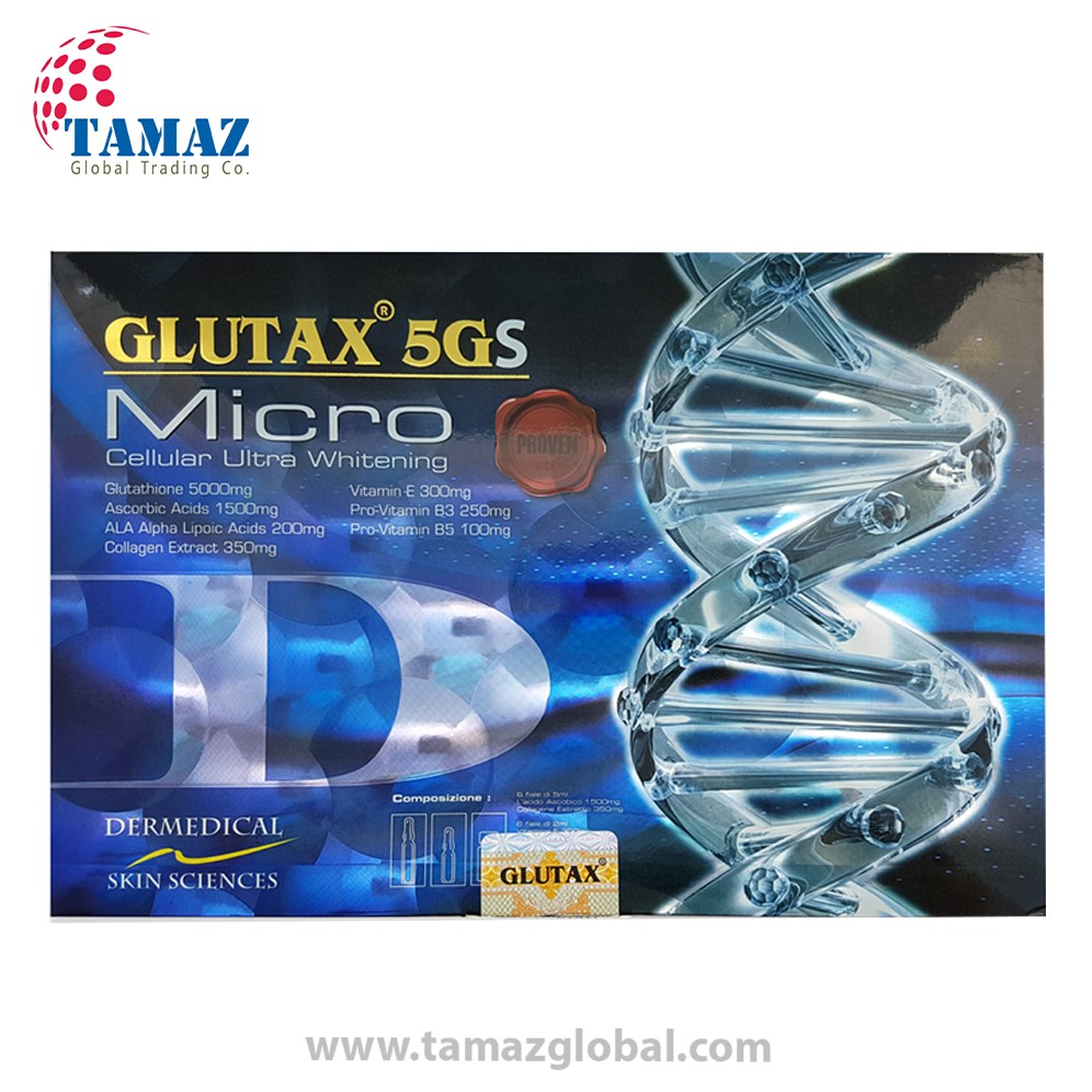Glutax 5gs Micro 5000mg Cellular Ultra Whitening Injection